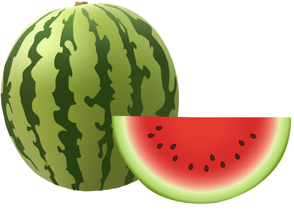 Spice up your design. Watermelon clipart high re