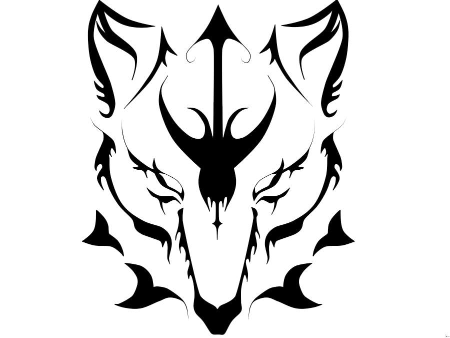 Design clipart wolf. Tattoos png transparent images