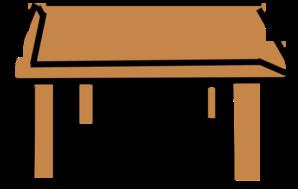 Clip art at clker. Desk clipart