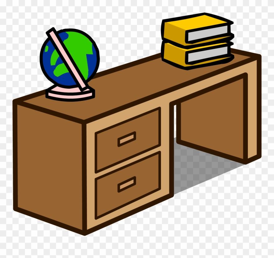 Desk clipart brown desk. Image change clipground filestudent