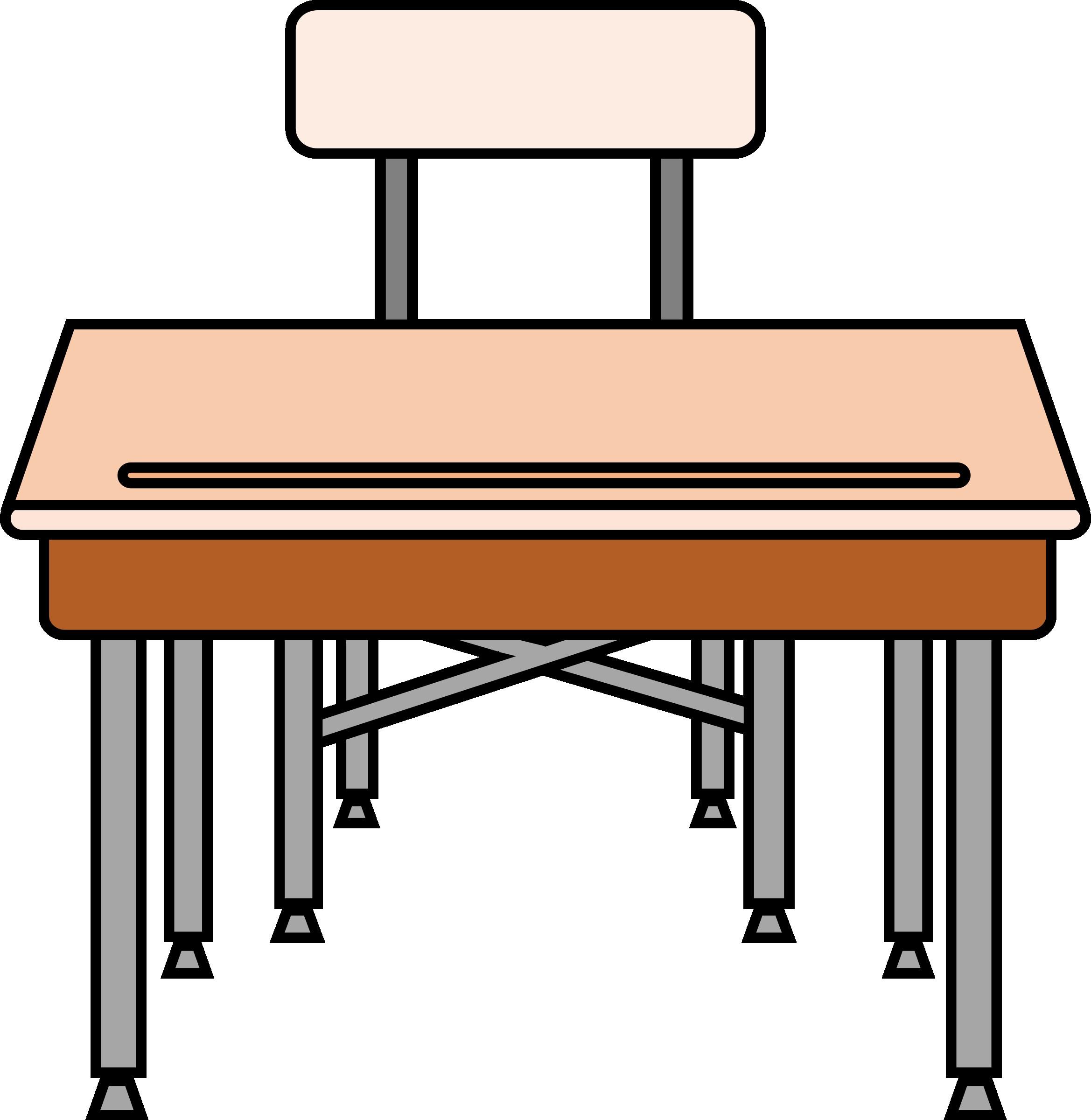 Desk clipart cartoon school. Cliparts making the web