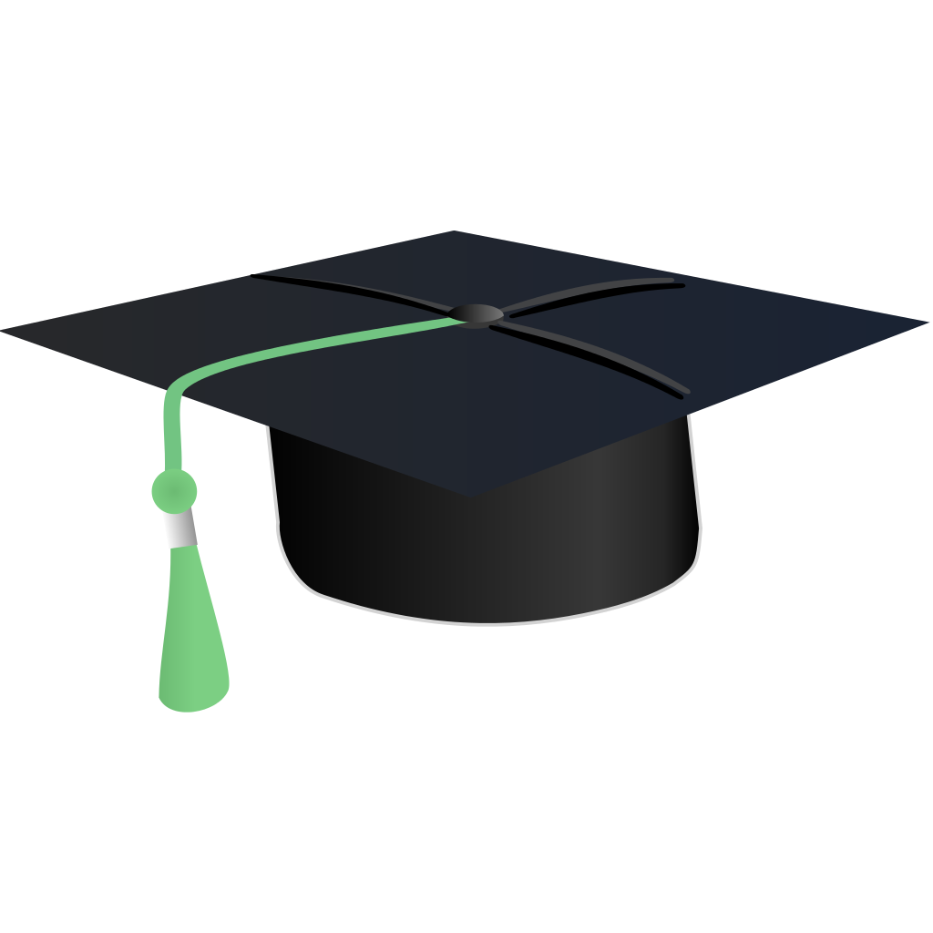 File student svg wikipedia. Diploma clipart hat
