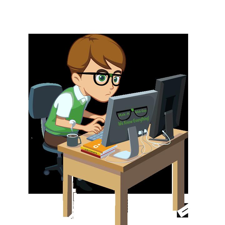 Our work ask a. Desk clipart desk job