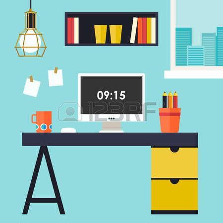 Desk clipart home desk. Office free download best