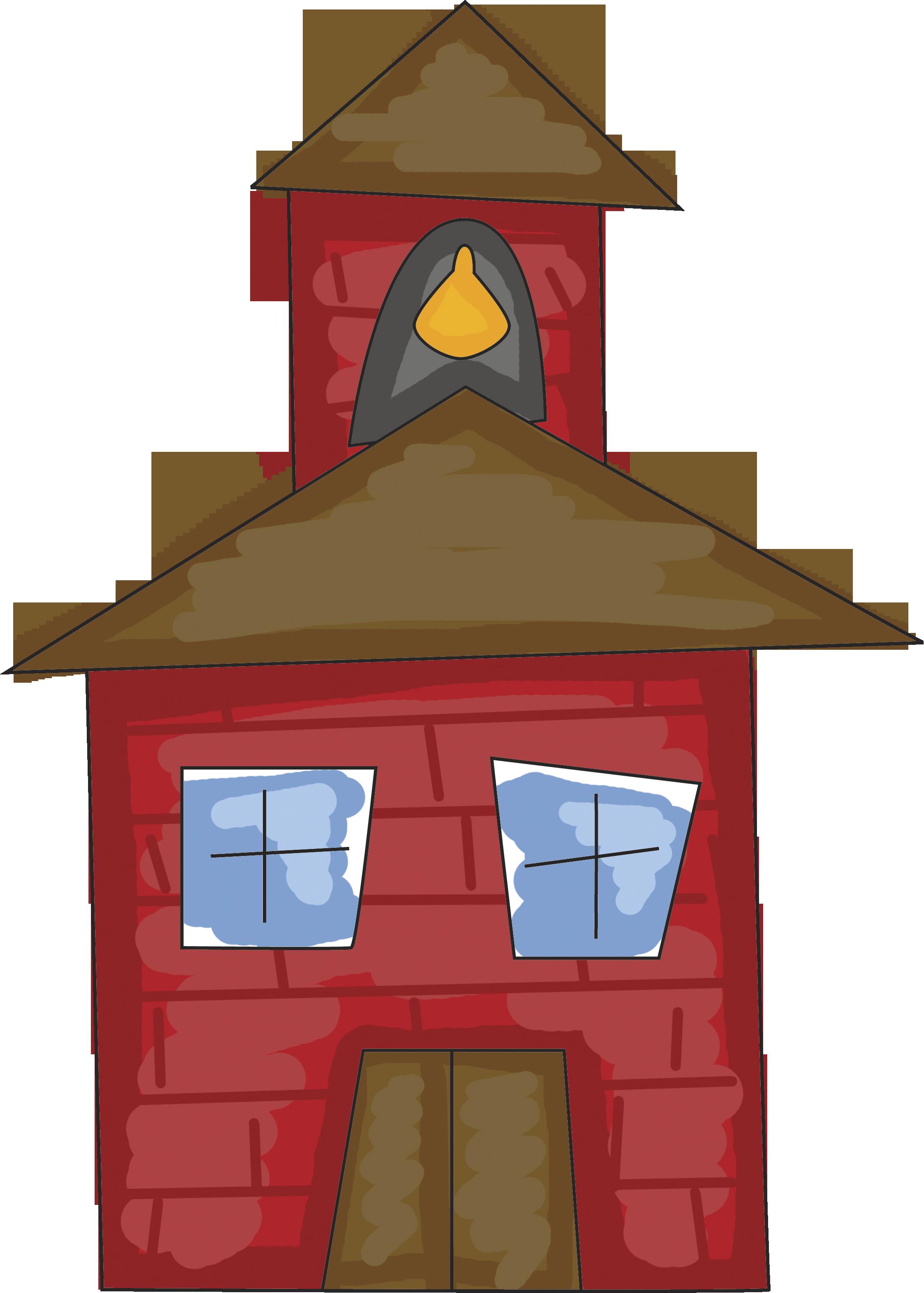 schoolhouse clipart school roof