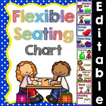 Flexible editable . Desk clipart seating chart