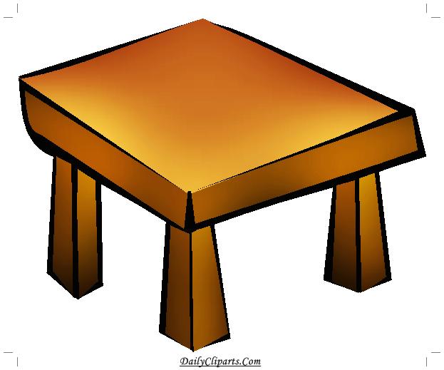 Desk clipart small desk. Table icon daily cliparts