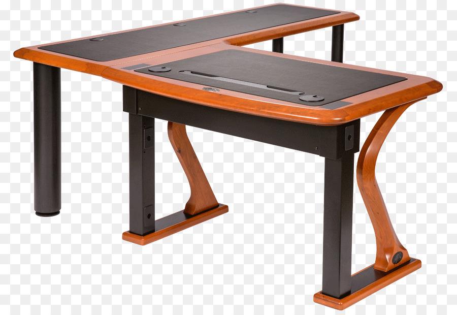 Table computer transparent clip. Desk clipart wood desk