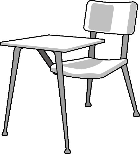 Desk clipart. Furniture school clip art