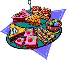 Free . Dessert clipart