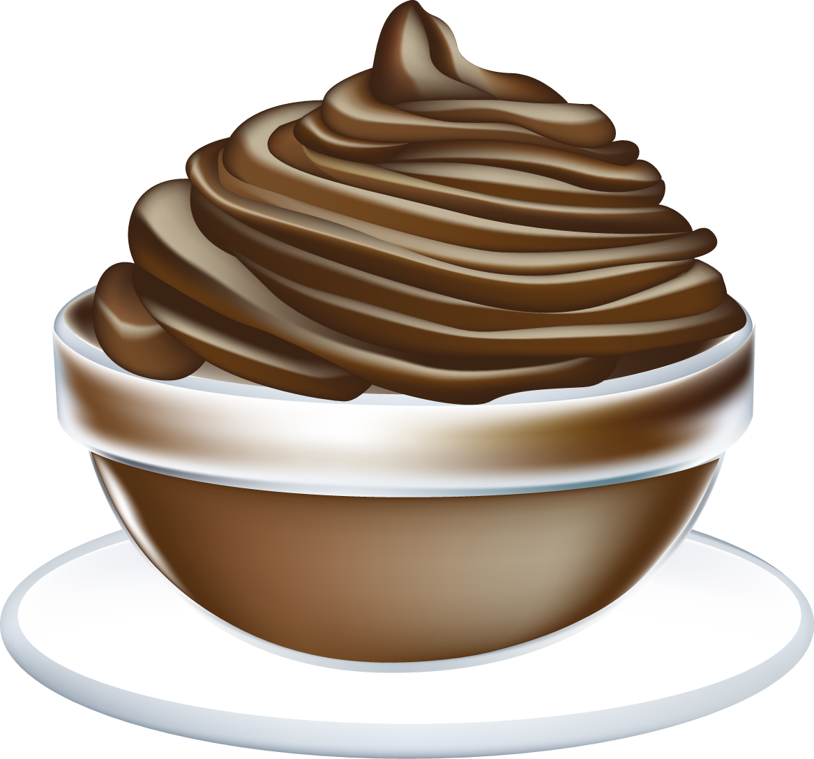 collection of images. Yogurt clipart pudding