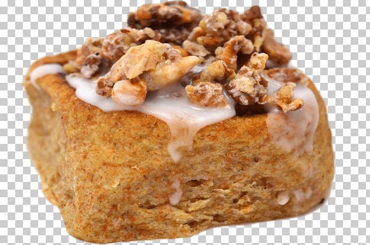 Sticky bun flavor food. Desserts clipart bread pudding