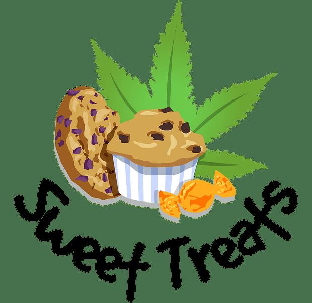 Marijuana clipart lit. Sweet treats chocolate brownie