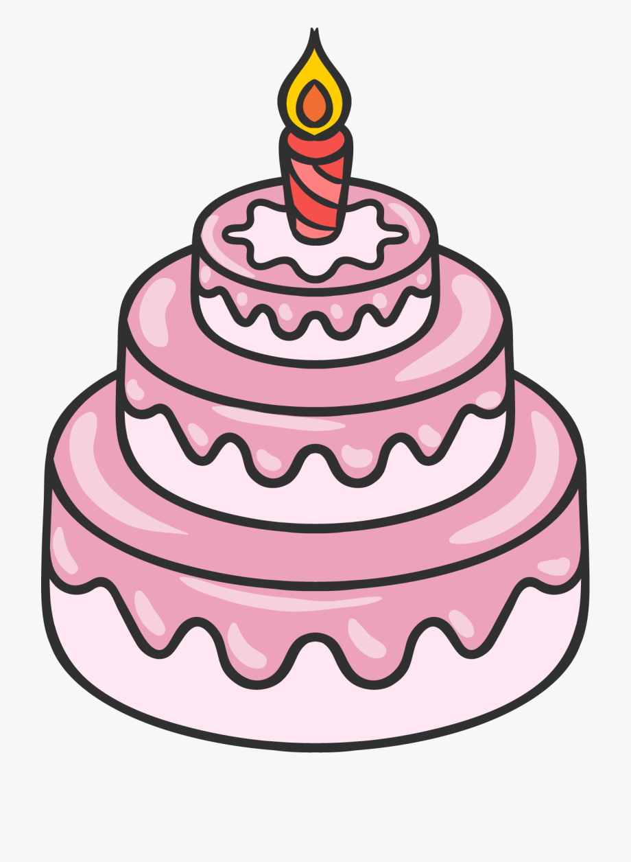 Desserts clipart cake decorator. Drawing of