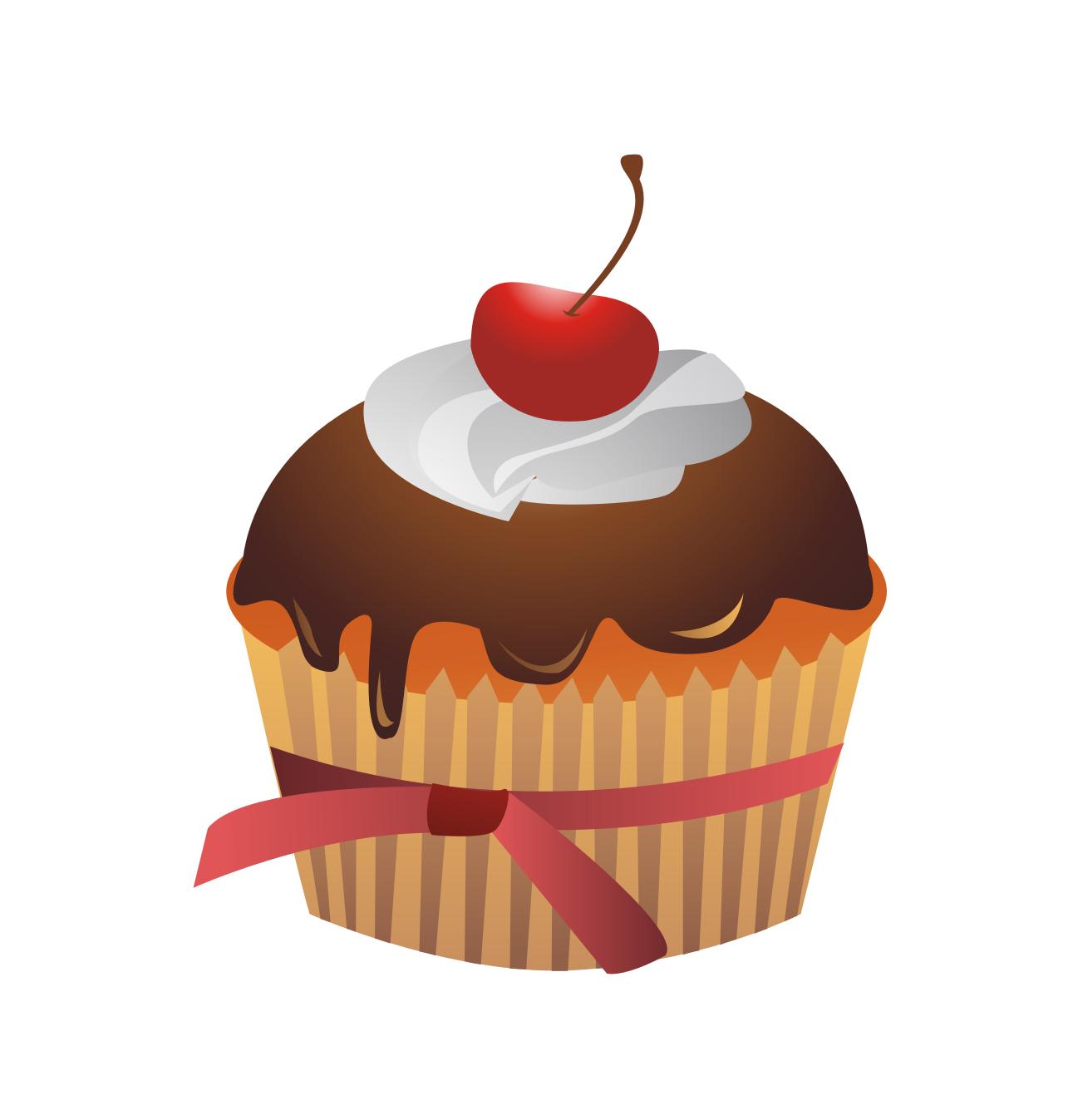 desserts clipart cherry cake