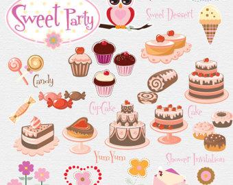 Desserts clipart dessert buffet. Best clipartion com