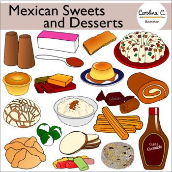 dessert clipart dessert mexican