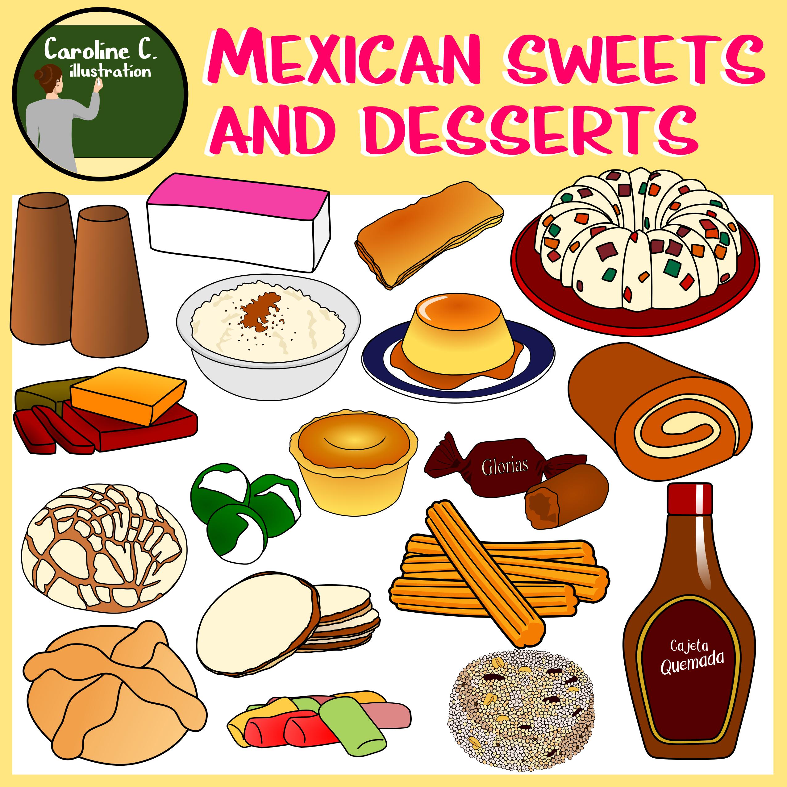 desserts clipart dessert mexican