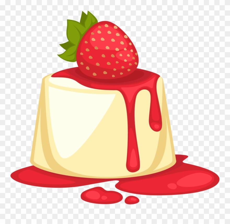 Desserts clipart bread pudding. Dessert parfait sweetness