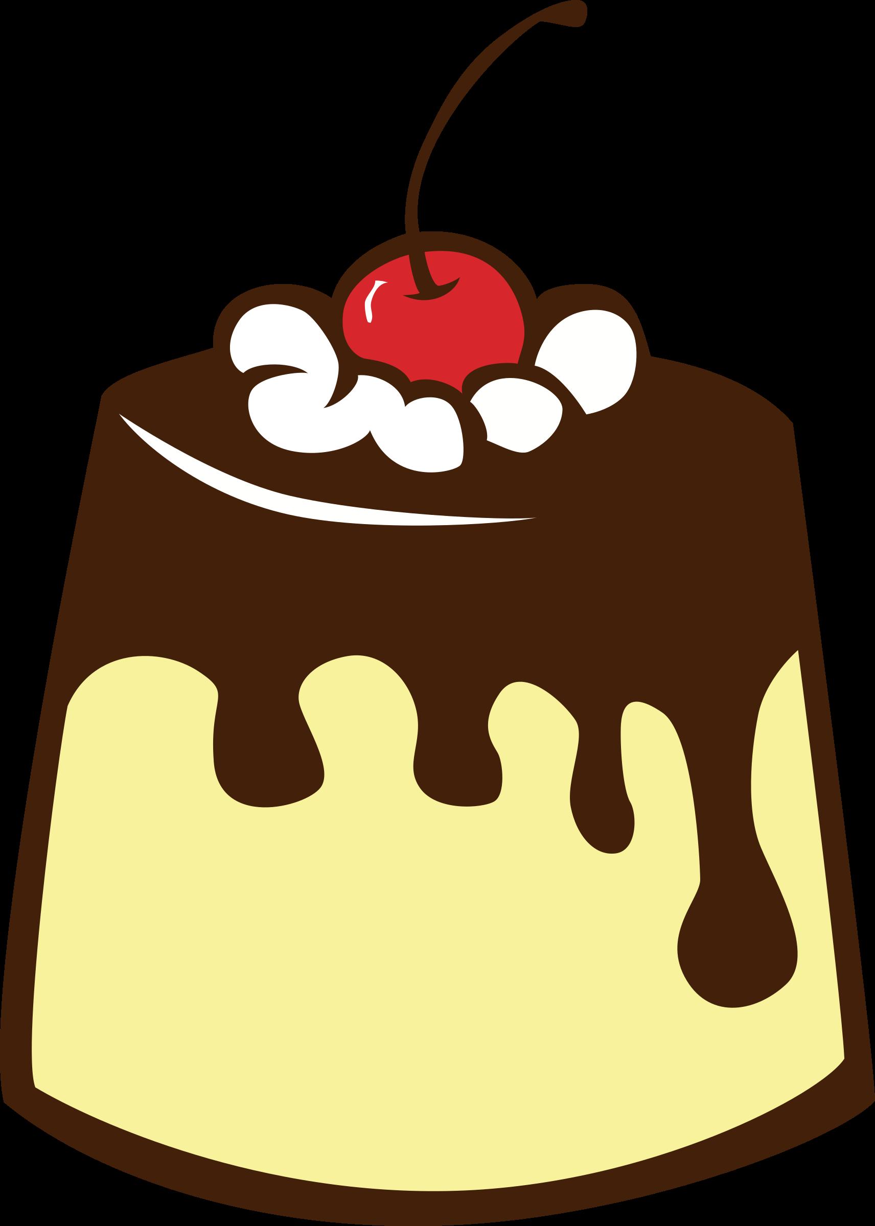desserts clipart pudding