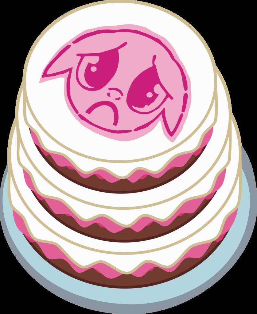 absurd res a. Dessert clipart half cake