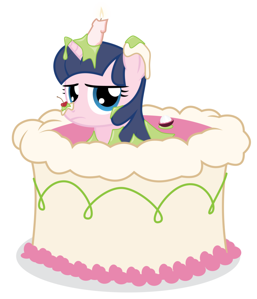 absurd res artist. Dessert clipart half cake
