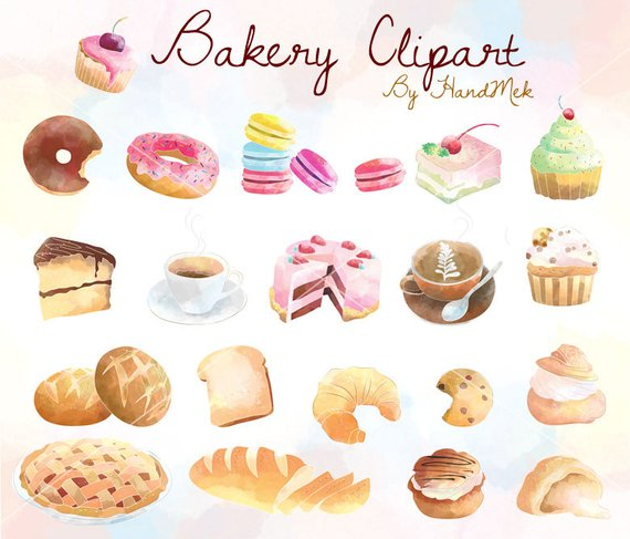 Bakery cupcakes sweets . Dessert clipart kitchen