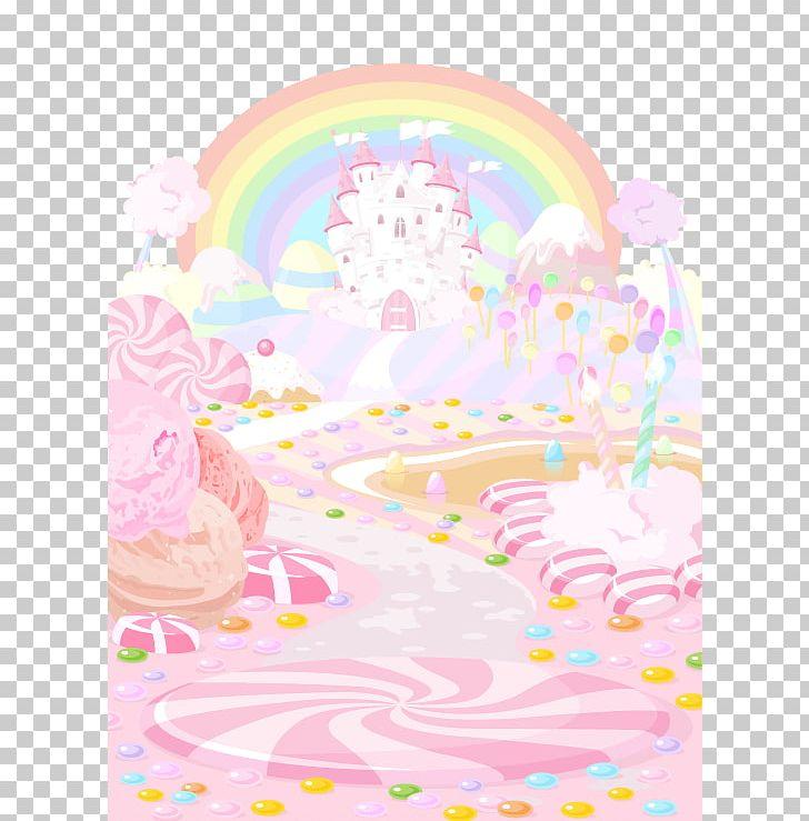 Dessert clipart land. Candy lollipop cupcake png