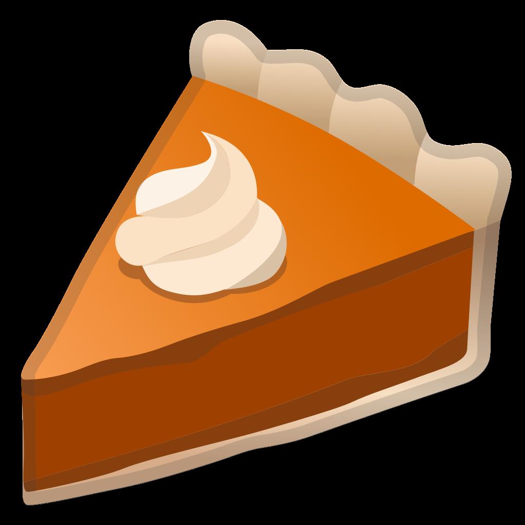 Icon noto emoji food. Desserts clipart pumpkin pie