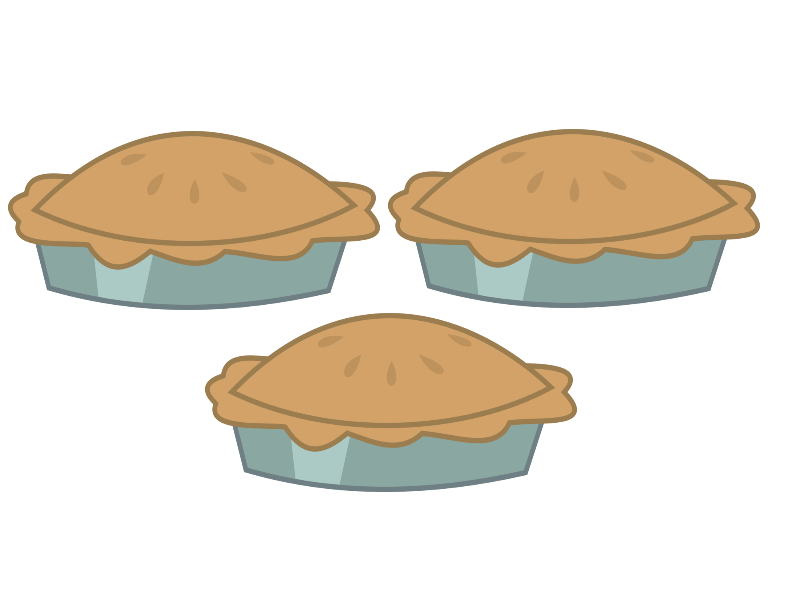 apple cutie mark. Desserts clipart pumpkin pie
