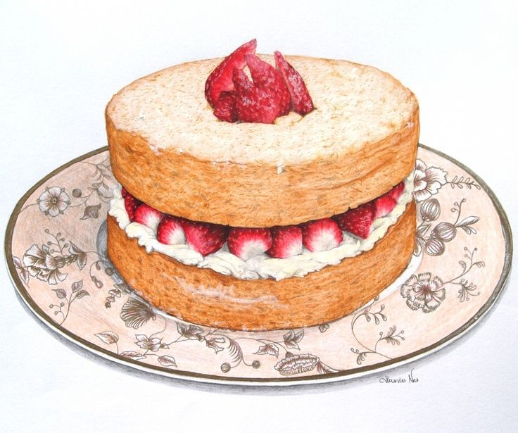 Desserts clipart sponge cake. Discovered by be abbit