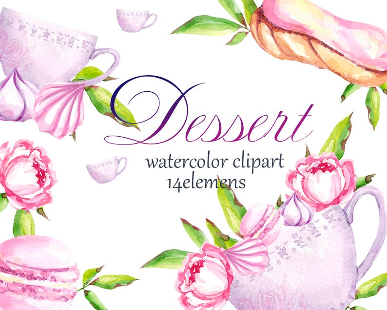 desserts clipart spring