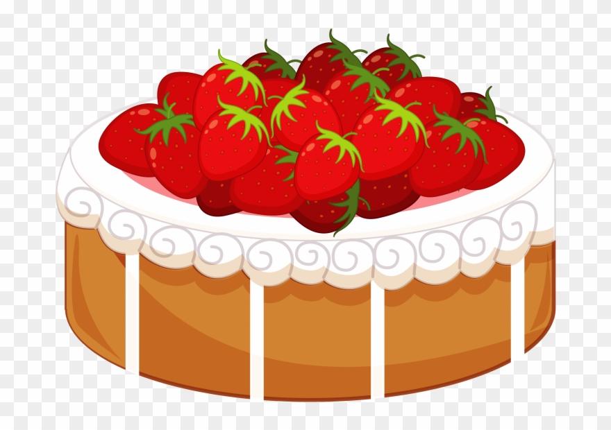 Cake png download . Dessert clipart strawberry shortcake dessert