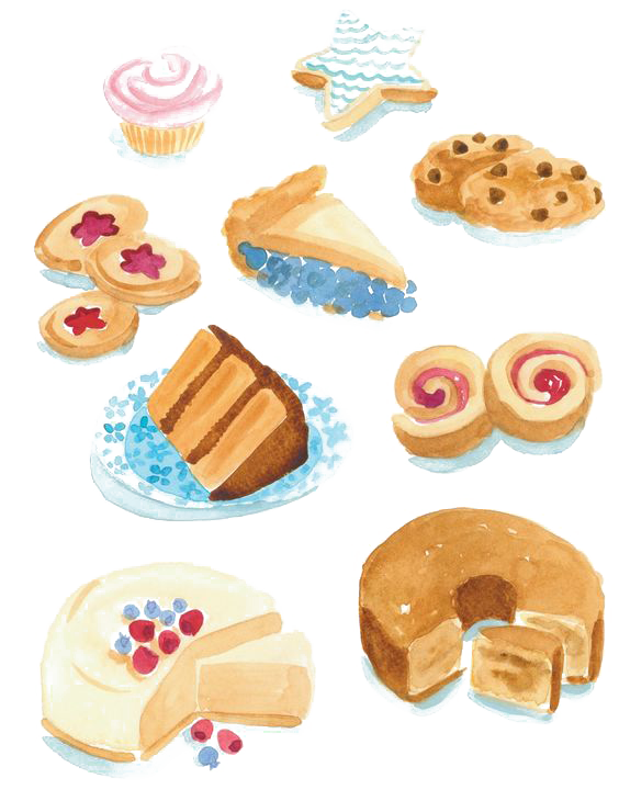 Donut clipart drawing. Doughnut petit four dessert
