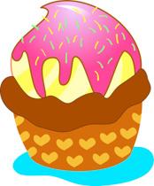 Free clip art pictures. Dessert clipart