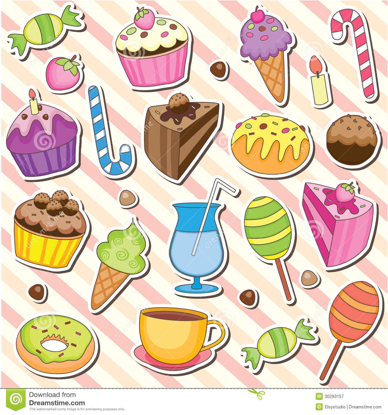 Desserts clipart. Free download