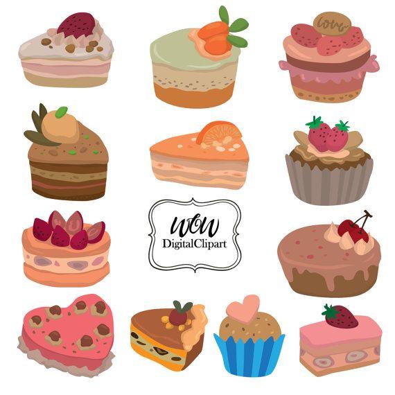 Cake clip art sweet. Desserts clipart
