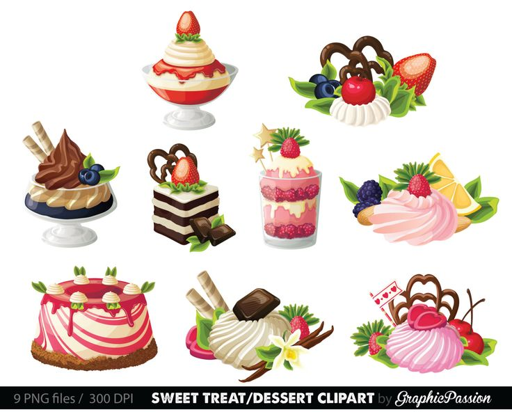 best images on. Desserts clipart