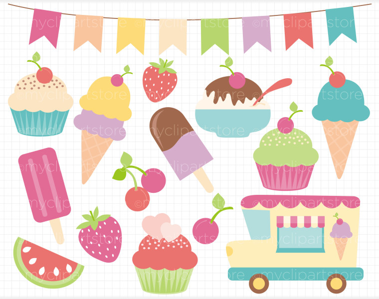 Desserts clipart banner. Free dessert border cliparts