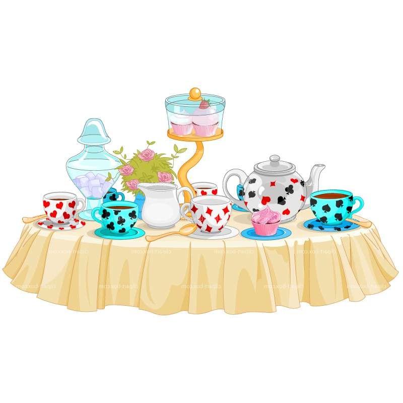 Cliparts zone . Desserts clipart dessert table