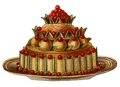 The graphics fairy loads. Desserts clipart fancy dessert