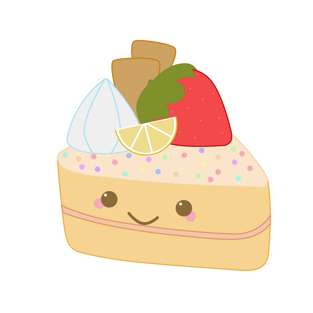 Desserts clipart kawaii. Tu mundo png