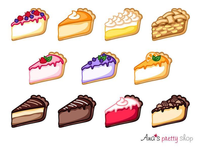 desserts clipart mini cheesecake