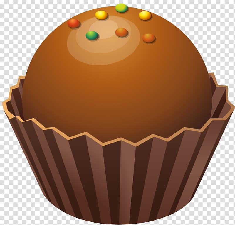 Cupcake bonbon praline chocolate. Desserts clipart road