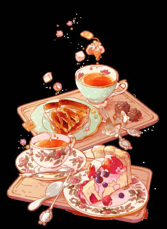 Desserts clipart watercolor. Food illustration illustrations pinterest