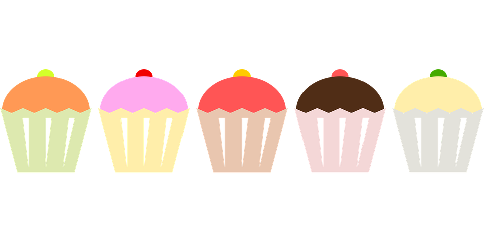 Cake flavoured books tag. Desserts clipart word