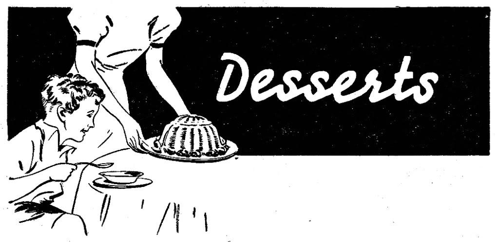 Desserts clipart word. Free dessert cliparts download