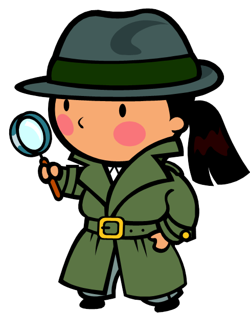 Detective clipart. Free panda images