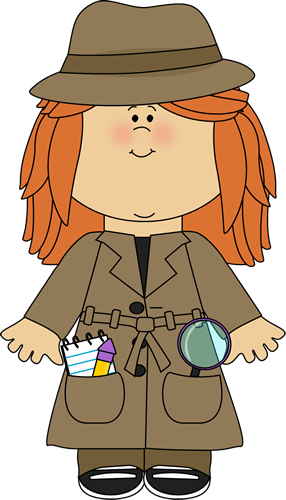 Detective clipart. Clip art images girl