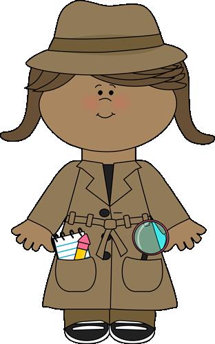 Detective clipart. Clip art images little